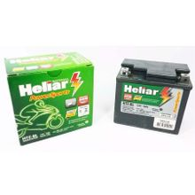 Bateria Heliar YTX5 Htz5 Titan 2000 04 ES Titan 150 KS BIZ ES Bros 125 Bros 150 ATE 2006