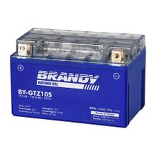 Bateria Brandy Ytz10s Gel R1, Cbr600, Cbr900, Cbr1000, Cb600 Hornet 2008 até 2013