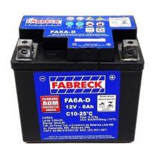 Bateria Ytx6 Titan 150 Mix Xre300 gasolina Bros 125 150 Fa6a-d Fabreck